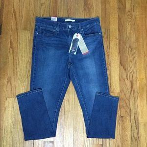 Levi's 14 32 X 30 Navy Blue Jeans Skinny Leggings